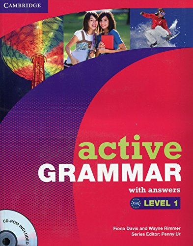 9780521732512: Active Grammar Level 1 with Answers and CD-ROM