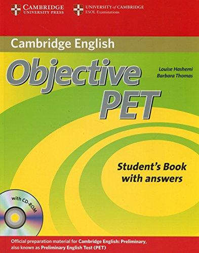 9780521732666: Objective Pet. Student's book. With answers. Per le Scuole superiori. Con CD-ROM