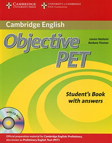 9780521732666: Objective PET Student's Book with answers with CD-ROM
