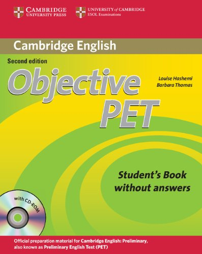 9780521732680: Objective PET Student's Book without Answers with CD-ROM