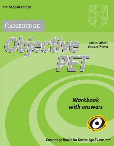 9780521732710: Objective PET 2nd Workbook with answers
