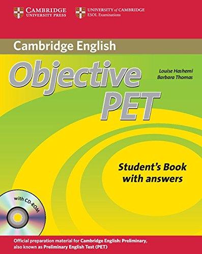 9780521732727: Objective Pet. Student's book. With answers. Per le Scuole superiori. Con CD Audio. Con CD-ROM