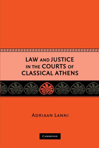 9780521733014: Law and Justice in the Courts of Classical Athens Paperback