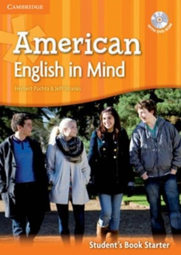 American English in Mind Starter Student's Book with DVD-ROM (Paperback): Herbert Puchta