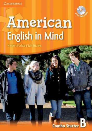 9780521733250: American English in Mind Starter Combo B with DVD-ROM