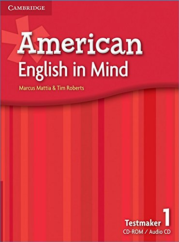 American English in Mind Level 1 Testmaker Audio Cd and Cd-rom (Mixed media product): Marcus Mattia...