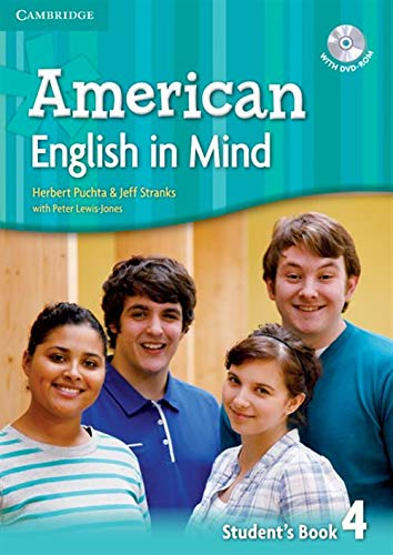 9780521733472: American English in Mind Level 4 Student's Book with DVD-ROM
