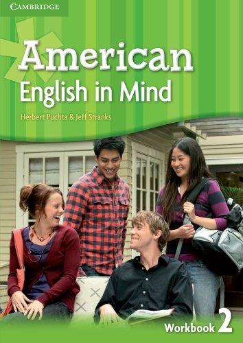 American English in Mind Level 2 Workbook: Puchta, Herbert; Stranks, Jeff