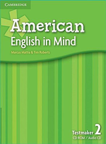 9780521733533: American English in Mind Level 2 Testmaker Audio CD and CD-ROM
