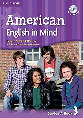 9780521733540: American English in Mind Level 3 Student's Book with DVD-ROM
