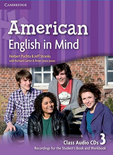 9780521733625: American English in Mind Level 3 Class Audio CDs (3)