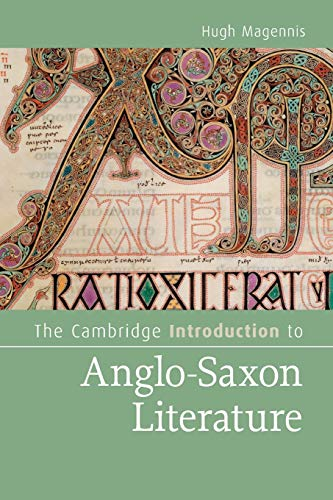 9780521734653: The Cambridge Introduction to Anglo-Saxon Literature