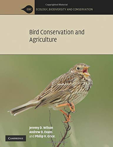 9780521734721: Bird Conservation and Agriculture
