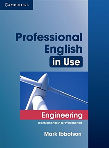9780521734882: Professional English in Use Engineering with Answers: Technical English for Professionals