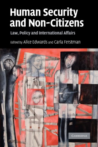 9780521734943: Human Security and Non-Citizens: Law, Policy and International Affairs