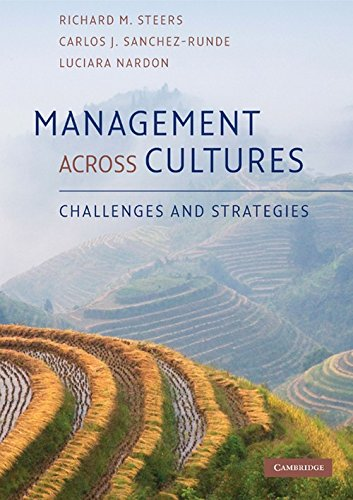 Management Across Cultures: Challenges and Strategies: Richard M. Steers,