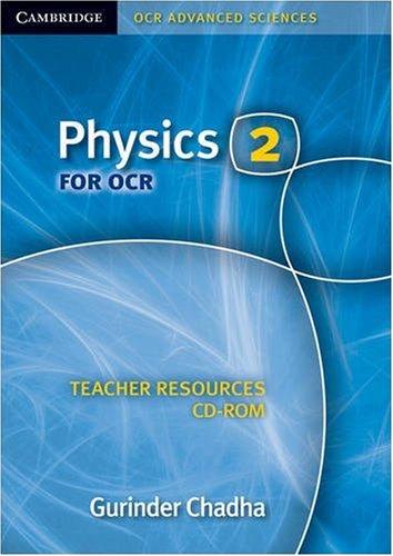 9780521735025: Physics 2 for OCR Teacher Resources CD-ROM (Cambridge OCR Advanced Sciences)