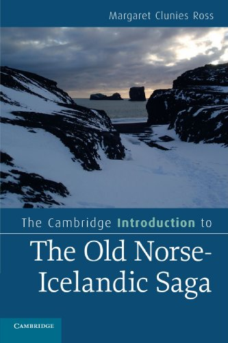 The Cambridge Introduction to the Old Norse-Icelandic Saga (Cambridge Introductions to Literature):...