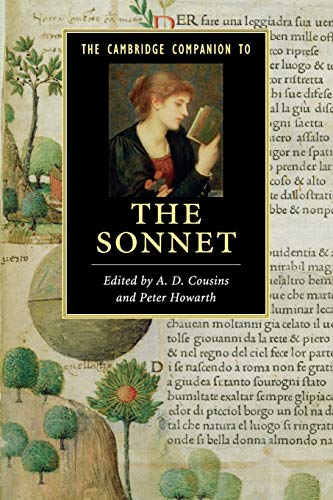 9780521735537: The Cambridge Companion to the Sonnet
