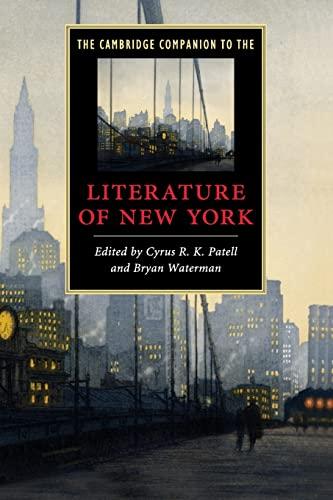 9780521735551: The Cambridge Companion to the Literature of New York (Cambridge Companions to Literature)