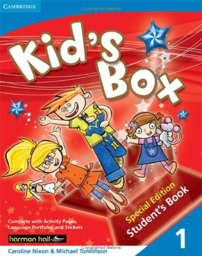 9780521735643: Kid's Box Level 1 Special Edition Student's Book Harmon Hall Edition