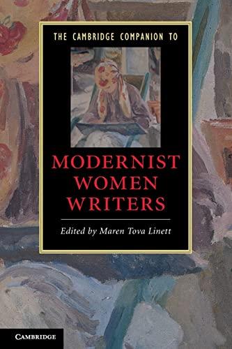 9780521735704: The Cambridge Companion to Modernist Women Writers (Cambridge Companions to Literature)