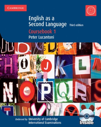 9780521735995: Cambridge IGCSE english as a second language. Coursebook. Con CD Audio. Per le Scuole superiori: 1