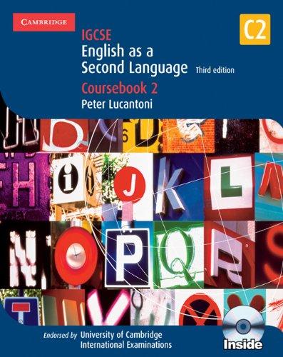 9780521736008: IGCSE. English as a second language. Coursebook. Per gli Ist. Magistrali. Con 2 CD Audio. Con CD-ROM