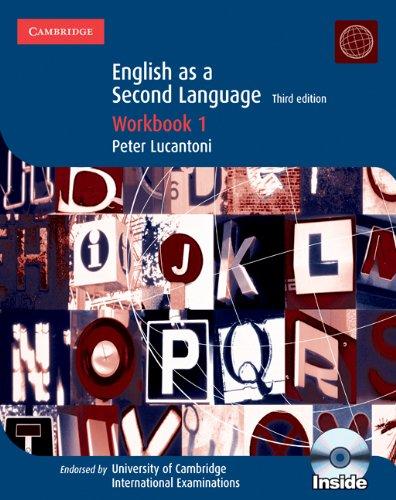9780521736022: Cambridge IGCSE english as a second language. Workbook. Con CD Audio. Per le Scuole superiori: 1