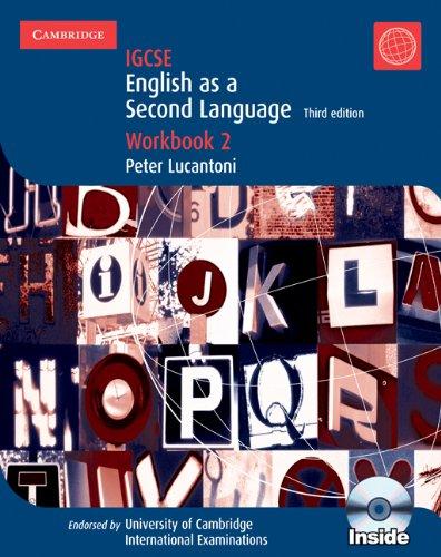 9780521736039: IGCSE. English as a second language. Workbook. Per gli Ist. Magistrali. Con CD Audio. Con DVD. Con CD-ROM