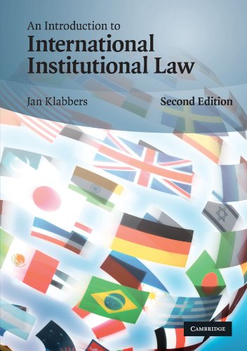 9780521736169: An Introduction to International Institutional Law