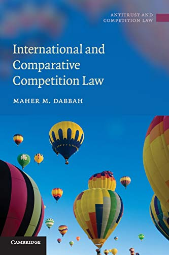 9780521736244: International and Comparative Competition Law (Antitrust and Competition Law)