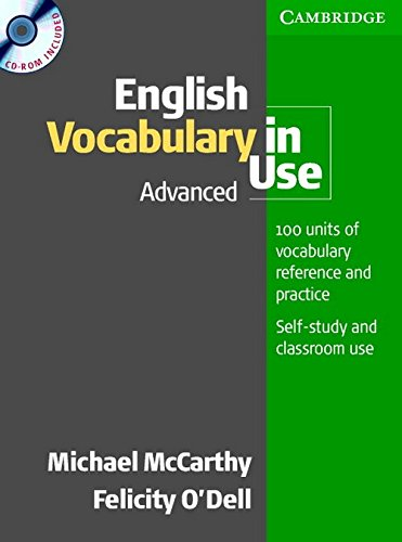 English Vocabulary In Use Advanced With Cd-Rom: Mccarthy