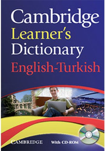9780521736435: Cambridge Learner's Dictionary English-Turkish with CD-ROM