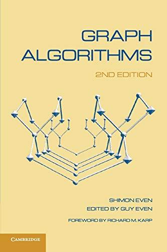 9780521736534: Graph Algorithms 2nd Edition Paperback