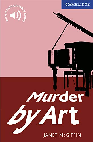 9780521736541: CER5: Murder by Art Level 5 Upper Intermediate (Cambridge English Readers)