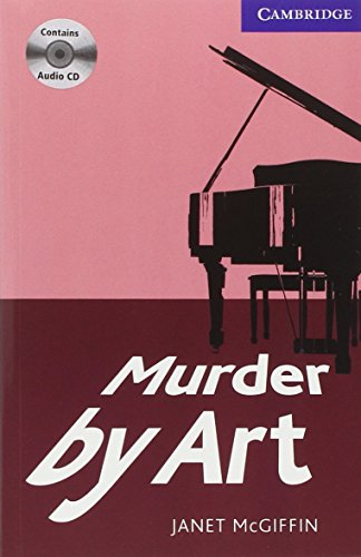 9780521736558: Murder by Art 5 Upper Intermediate Book with Audio CDs (3) (Cambridge English Readers)