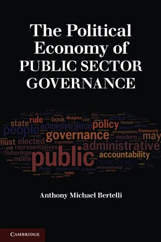9780521736640: The Political Economy of Public Sector Governance