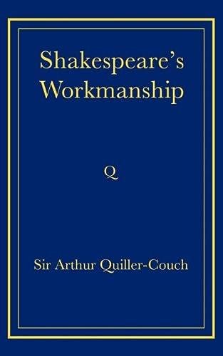 9780521736817: Shakespeare's Workmanship