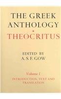9780521737593: Theocritus: The Greek Anthology: Theocritus 2 Volume Set