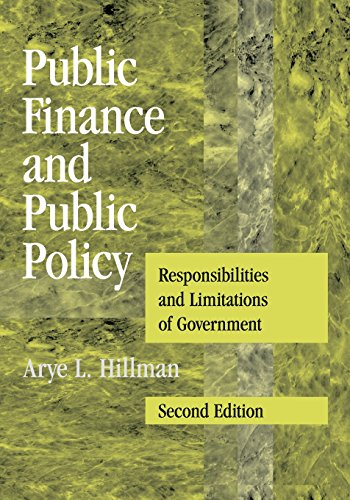 9780521738057: Public Finance and Public Policy: Responsibilities and Limitations of Government
