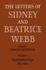 9780521738125: The Letters of Sidney and Beatrice Webb 3 Volume Paperback Set (3 Volumes)