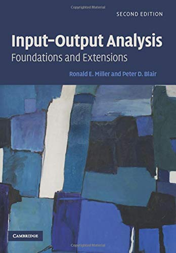 9780521739023: Input-Output Analysis: Foundations and Extensions