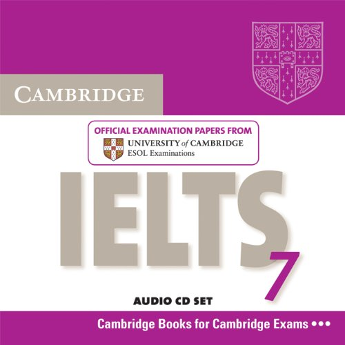 9780521739184: Cambridge IELTS 7 Audio CDs (2): Examination Papers from University of Cambridge ESOL Examinations (IELTS Practice Tests)