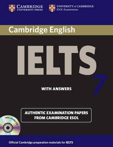 9780521739191: Cambridge IELTS 7 Self-study Pack (Student's Book with Answers and Audio CDs (2)) Examination Papers from University of Cambridge ESOL Examinations