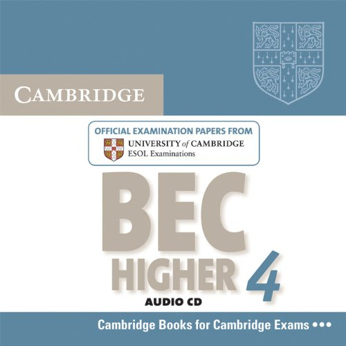 9780521739214: Cambridge BEC 4 Higher Audio CD: Examination Papers from University of Cambridge ESOL Examinations