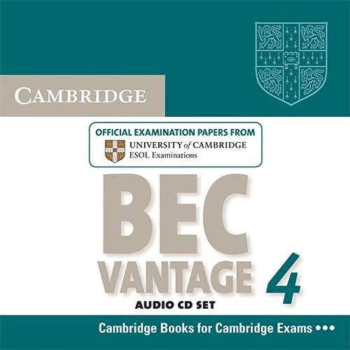 9780521739276: Cambridge BEC 4 Vantage Audio CDs (2): Examination Papers from University of Cambridge ESOL Examinations (BEC Practice Tests)