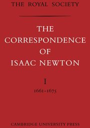 9780521739535: The Correspondence of Isaac Newton