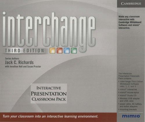 9780521739726: Interchange All levels Interactive Presentation Classroom Pack