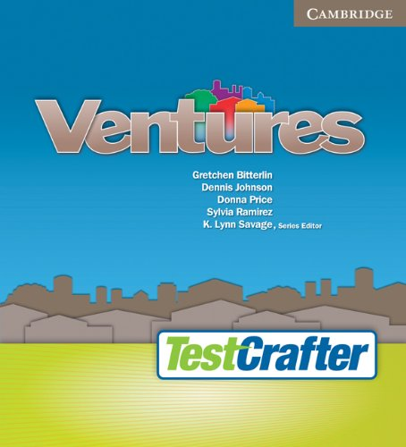 9780521739757: Ventures All Levels Test Crafter